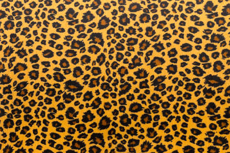 Foto de closeup artificial tiger skin pattern Background - Imagen libre de derechos
