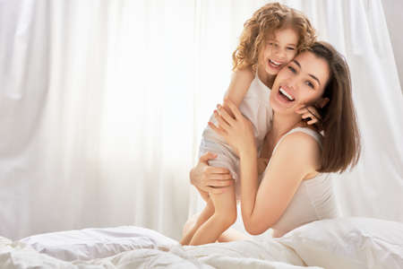Photo for happy mother holding her child - Royalty Free Image