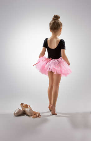 Photo for little girl plays in the ballet - Royalty Free Image