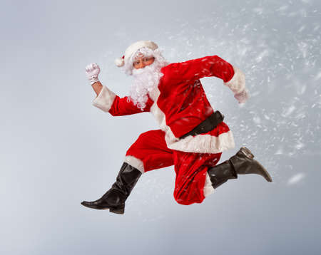 Photo for Portrait of funny Santa Claus. - Royalty Free Image