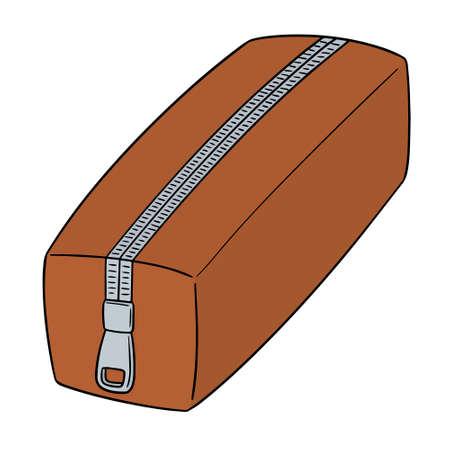 Illustrazione per Vector of pencil case - Immagini Royalty Free