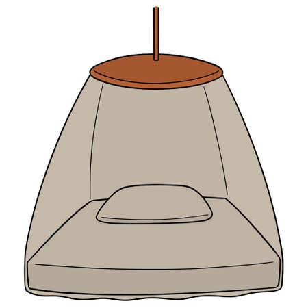 Ilustración de Vector of mosquito net - Imagen libre de derechos
