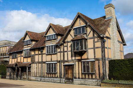 Photo for A view of the birthplace of famous playwright and poet William Shakespeare in Stratford-Upon-Avon, in the UK. - Royalty Free Image