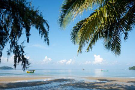 Foto de This image shows Otres Beach in Sihanoukville, Cambodia - Imagen libre de derechos