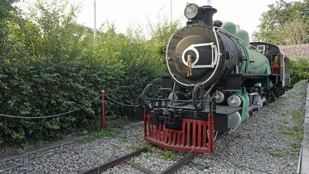 Foto de colorful old train in hua hin in thailand - Imagen libre de derechos