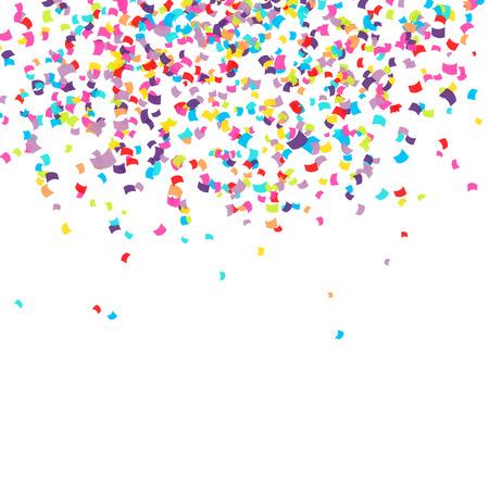Illustration pour Abstract background with falling confetti - image libre de droit