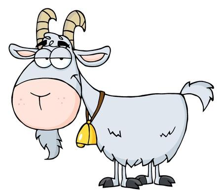 Goat Cartoon Character