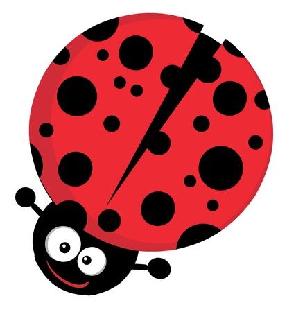 Lady Bug Cartoon Character