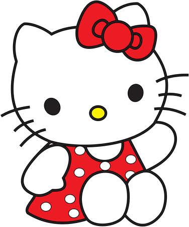 Hello Kitty red dress