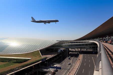 flight arrival  in beijing capital airport