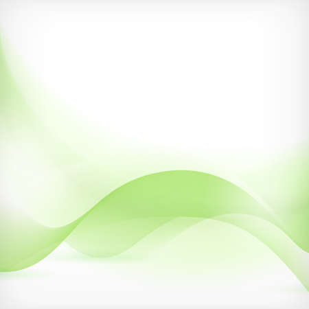 Soft and dreamy abstract background with wave pattern in shades of green.