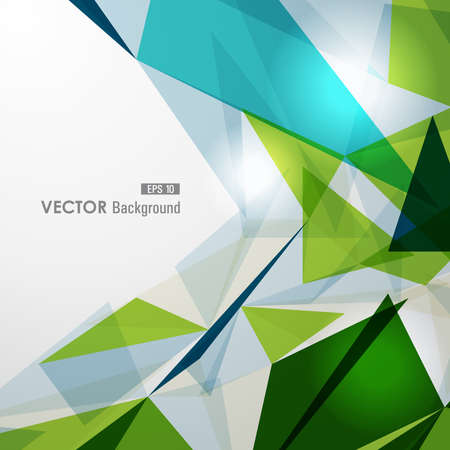 Illustration for Modern colorful transparent triangles abstract background illustration. vector with transparency organized in layers for easy editing. - Royalty Free Image