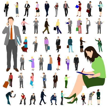People - Business - Large Set 01