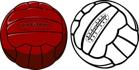 Illustration pour vector vintage soccer ball - image libre de droit