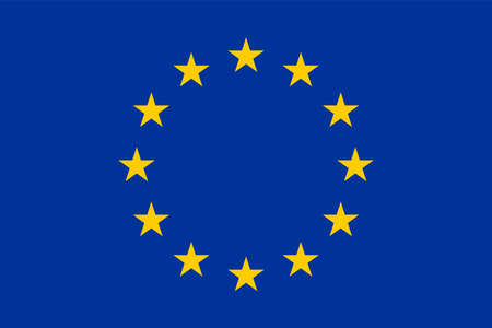 Photo pour Flag of the European Union - image libre de droit