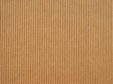 Foto de Brown corrugated cardboard useful as a background - Imagen libre de derechos