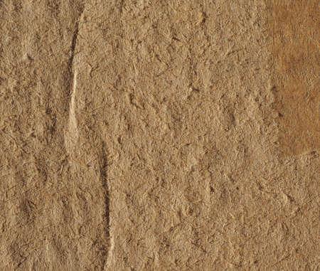 Foto de Brown corrugated cardboard texture useful as a background - Imagen libre de derechos