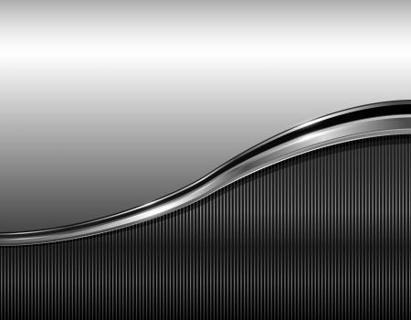 Illustration for Abstract business background elegant grey, vector illustration  - Royalty Free Image