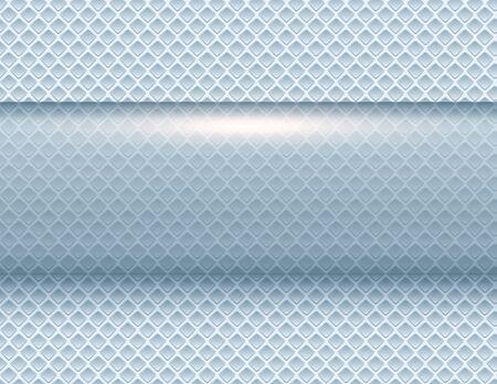 Ilustración de Abstract  background silver 3d shiny blue metallic, vector illustration. - Imagen libre de derechos
