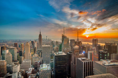 Photo pour New York cityscape - image libre de droit