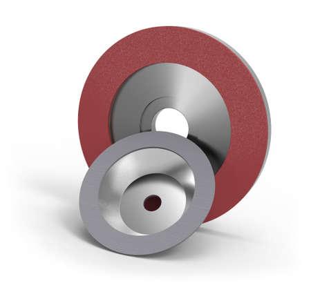 Foto de Diamond abrasive wheels - Imagen libre de derechos