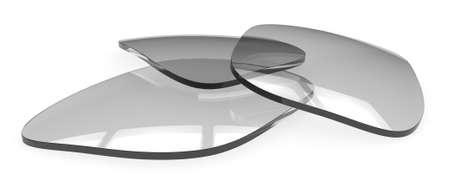 Foto de Eyeglasses lenses - Imagen libre de derechos