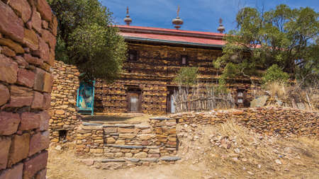 Photo for Debre Damo is one of Ethiopia's most important monasteries and is thought to date back to Aksumite times - Royalty Free Image