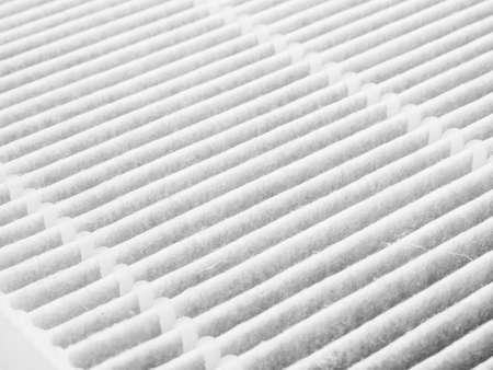 Photo pour Air purifier filter replacement. - image libre de droit