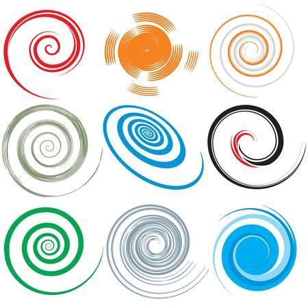 Ilustración de spirals - Imagen libre de derechos