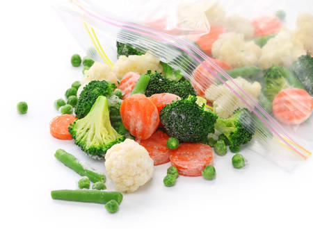 homemade frozen vegetables