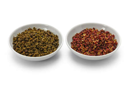 Photo for Sichuan pepper, green and red - Royalty Free Image