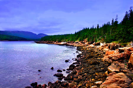 Photo for Acadia National Park, Maine - Royalty Free Image