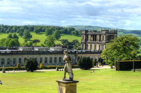 Foto de Chatsworth House, Derbyshire, Britain - Imagen libre de derechos