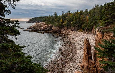Photo pour Acadia National Park in Maine - image libre de droit
