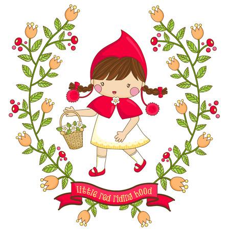 Illustration pour Flower Girl - image libre de droit