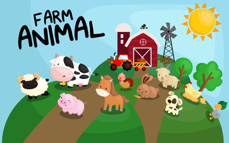 Photo pour Farm Animal - image libre de droit