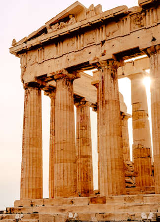 Photo for Acropolis of Athens, architectural monument, tourist attraction tourism - Royalty Free Image