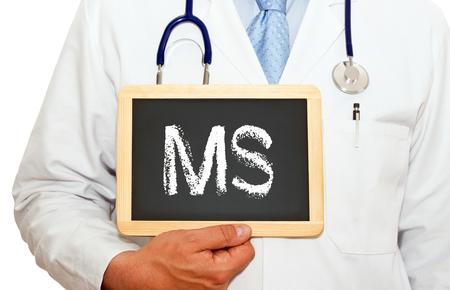 Photo for MS - Multiple Sclerosis - Royalty Free Image
