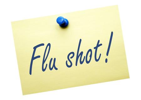 Photo for Flu shot   - Royalty Free Image