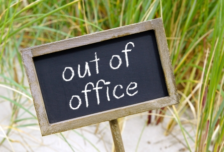 Photo pour out of office - image libre de droit