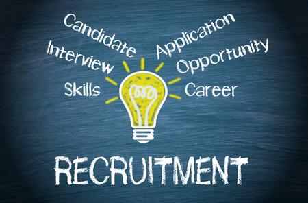 Photo pour Recruitment - image libre de droit