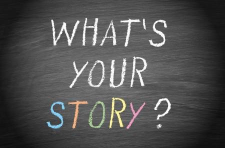 Foto de What is your story - Imagen libre de derechos