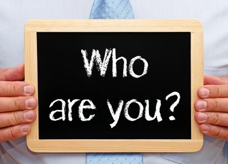 Photo pour Who are you - image libre de droit
