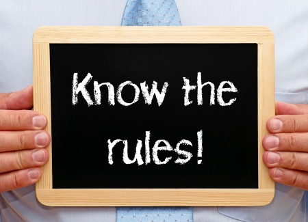 Photo for Know the rules - Royalty Free Image