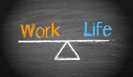Photo pour Work-Life Balance - image libre de droit