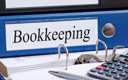 Photo pour Bookkeeping - image libre de droit
