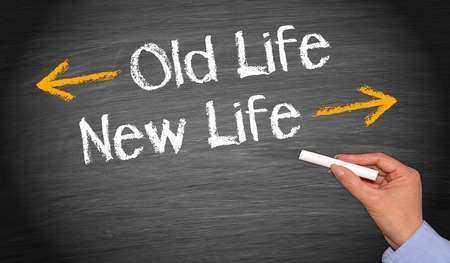 Photo pour Old Life and New Life - image libre de droit