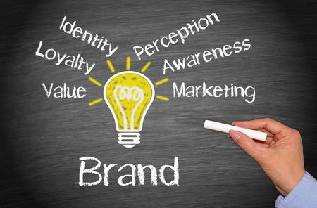 Photo pour Brand - Marketing Concept - image libre de droit