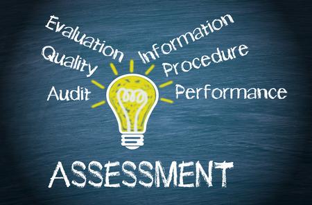 Foto de Assessment - Business Concept - Imagen libre de derechos