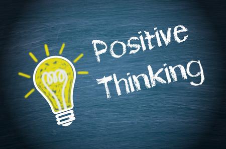 Photo pour Positive Thinking - image libre de droit